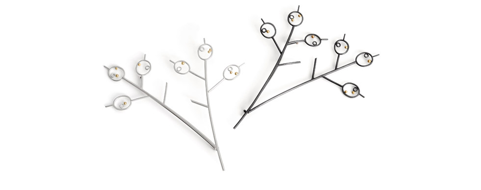 Honesty Seed Branch Pins