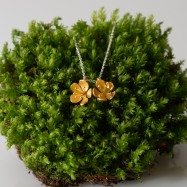 NEW – buttercup pendant double flower