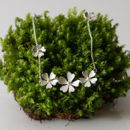 As seen on BBC1 Countryfile primrose pendant three flowers