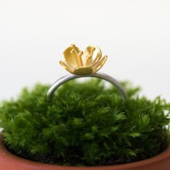NEW – buttercup ring large flower